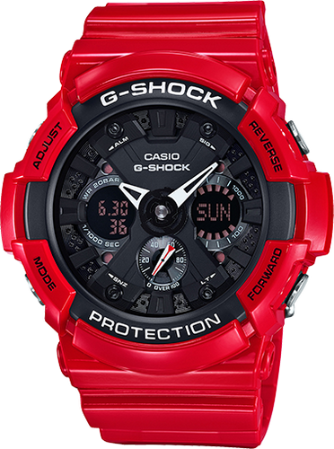 Gshock Black and Red