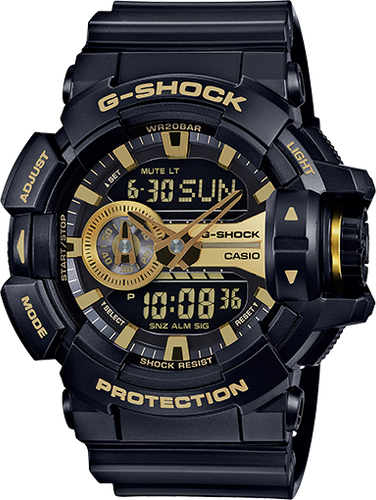 Gshock black and gold