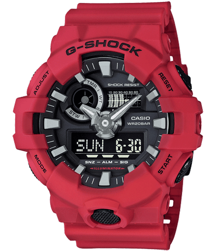 GA700-4A - Analog Digital Mens Watches - G-Shock