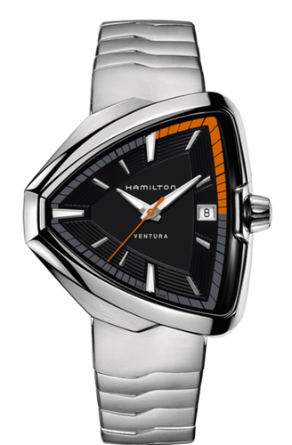 Hamilton Ventura Elvis80 Black Dial Men's Watch H24551131