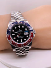 Rolex GMT Master II Pepsi 40mm Mens Watch 126710BLRO