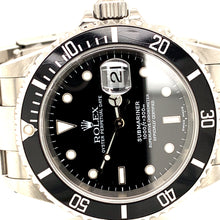 Rolex 16610 Stainless Steel Submariner 40mm Black Dial with papers P-serial