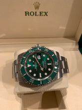 Rolex 116610LV Stainless Steel Submariner  Hulk 40mm Green Dial Green Ceramic