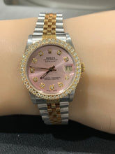 Rolex Datejust 68273 Ladies 31mm Jubilee Pink Diamond Dial with Diamond bezel