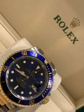 16613 18k Stainless Steel Submariner 40mm Blue Dial