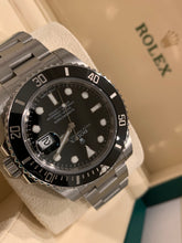 Rolex 116610LN Stainless Steel Submariner 40mm Black Dial Ceramic Box and Papers