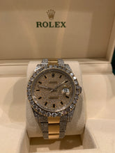 Rolex 116334 Datejust II 18k Stainless Steel 41mm Iced out