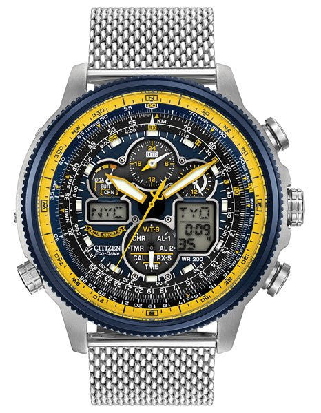 Citizen Blue Angels NAVIHAWK A-T JY8031-56L