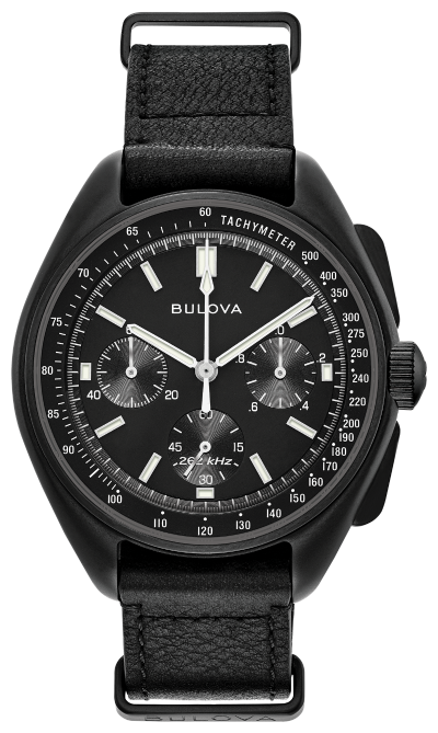 Bulova Special Edition Lunar Moon Chronograph Leather Strap 98186