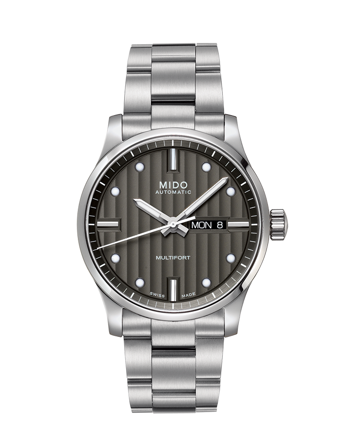 Mido Multifort 42mm Stainless Steel Automatic M0054301106180