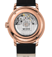 Mido Baroncelli Automatic Men's Watch Leather Rose Gold M0274263601800