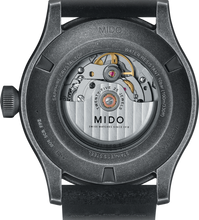 Mido 44mm Multifort Escape Black Dial Black Leather M0326073605009