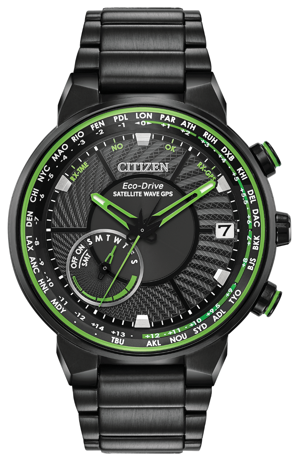 Citizen 44mm SATELLITE WAVE GPS FREEDOM CC3035-50E