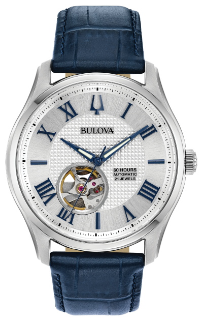 Bulova Wilton Automatic Blue 96A206