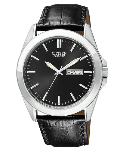 Citizen Quartz Stainless steel leather BF0580-06E