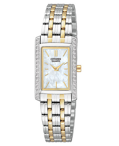 Citizen Quartz two tone ladies EK1124-54D