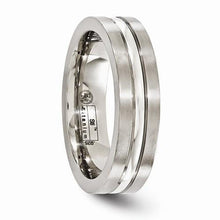 Edward Mirell Titanium Brushed & Polished w/ Sterling Silver - 6mm - AydinsJewelry