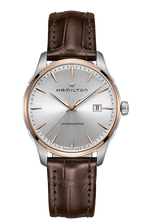 Hamilton Gent Quartz Jazzmaster Brown Leather H32441551