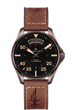 Hamilton Khaki Day Date Automatic Leather H64605531