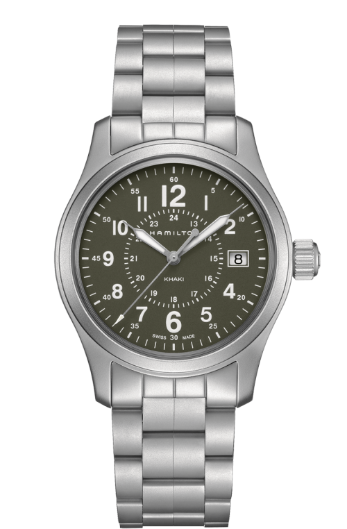 Hamilton Khaki Field Quartz Stainless Steel H68201163