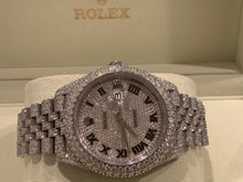 Rolex 126300 41mm Datejust  Honeycomb setting Jubilee 20ctw