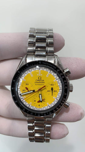 Omega speed master yellow