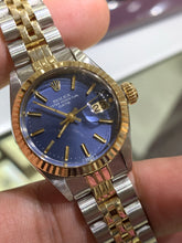 Rolex Datejust Ladies 26mm Jubilee Blue