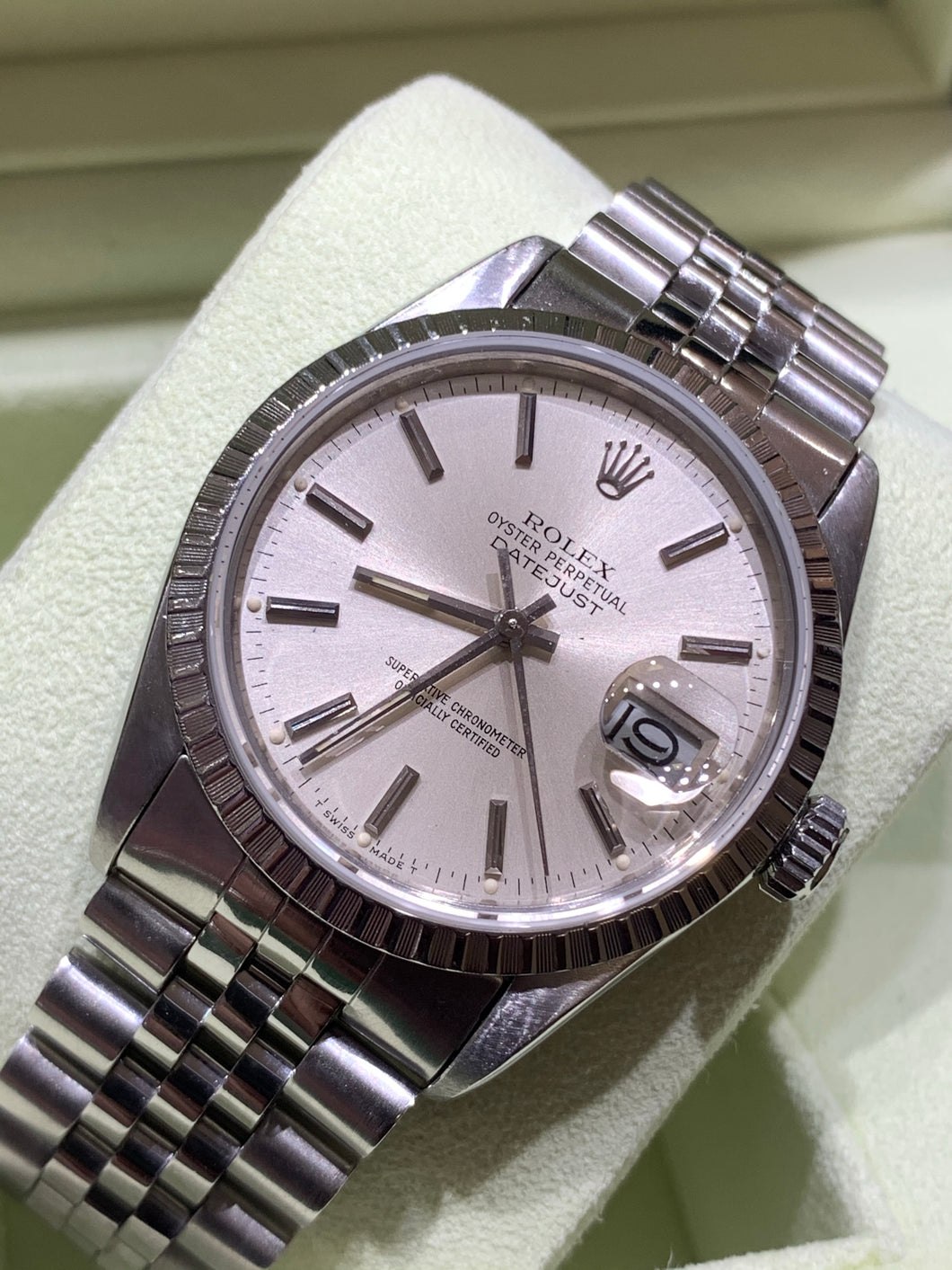 Rolex Datejust Stainless Steel 16030 Jubilee band