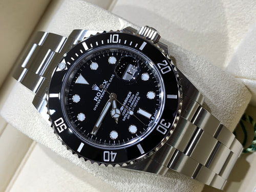 Rolex 126610LN Stainless Steel Submariner 41mm Black Dial Ceramic