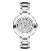 Movado Bold Women's 32mm Stainless Steel & Pave-Set Crystal 3600567