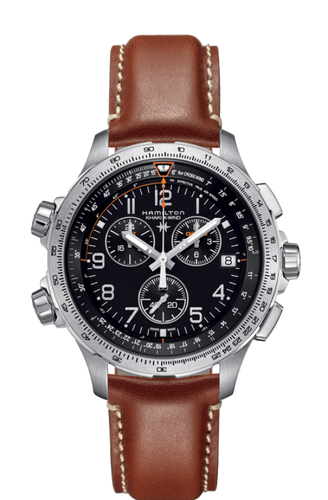Hamilton Khaki aviation X-Wind GMT Chrono Quartz H77912535
