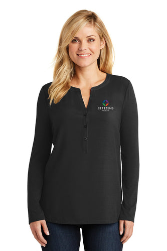 Port Authority® Ladies Concept Henley Tunic - CH