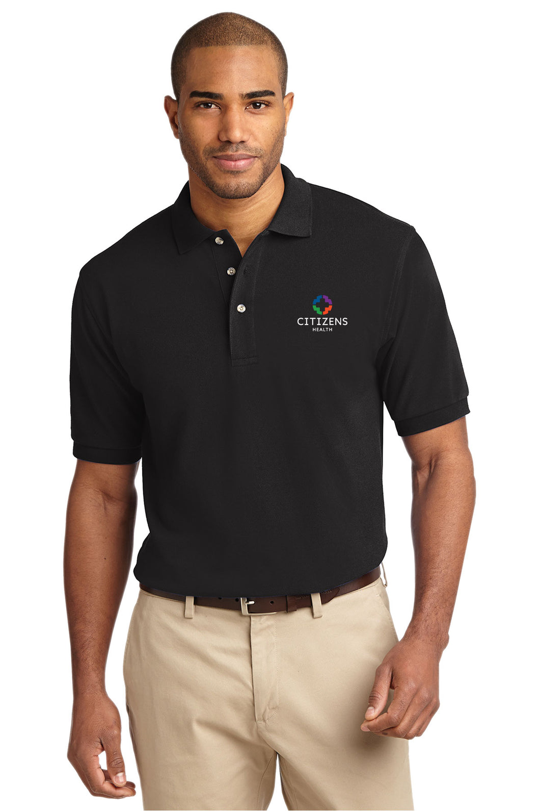 TALL Port Authority® Heavyweight Cotton Pique Polo - CH