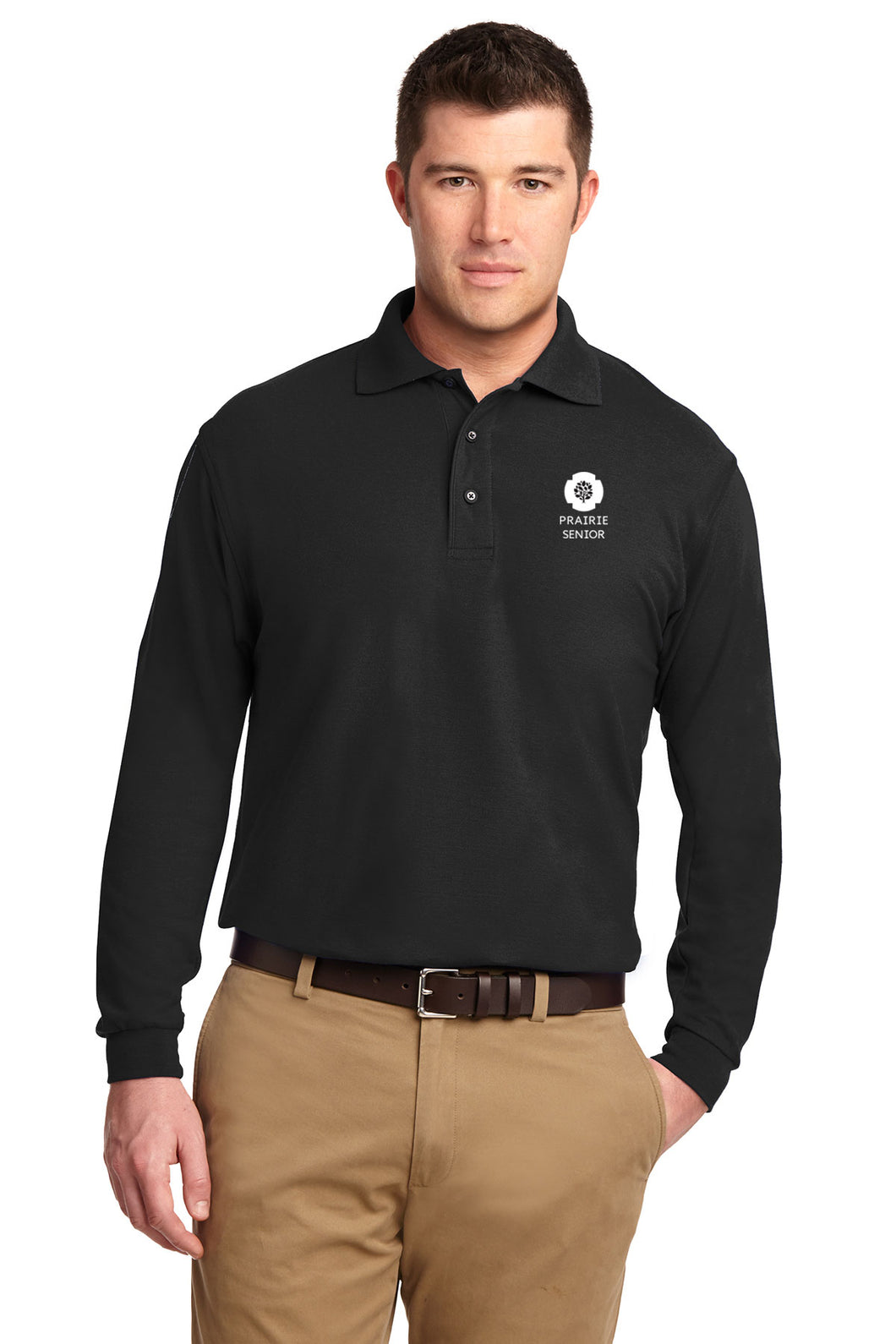Port Authority® Long Sleeve Silk Touch™ Polo - PS