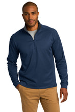 Port Authority® Vertical Texture 1/4-Zip Pullover - CH