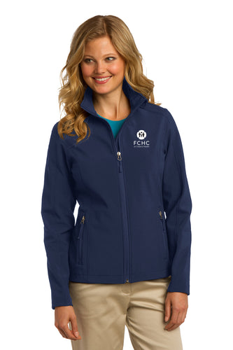 Port Authority® Ladies Core Soft Shell Jacket - FCHC