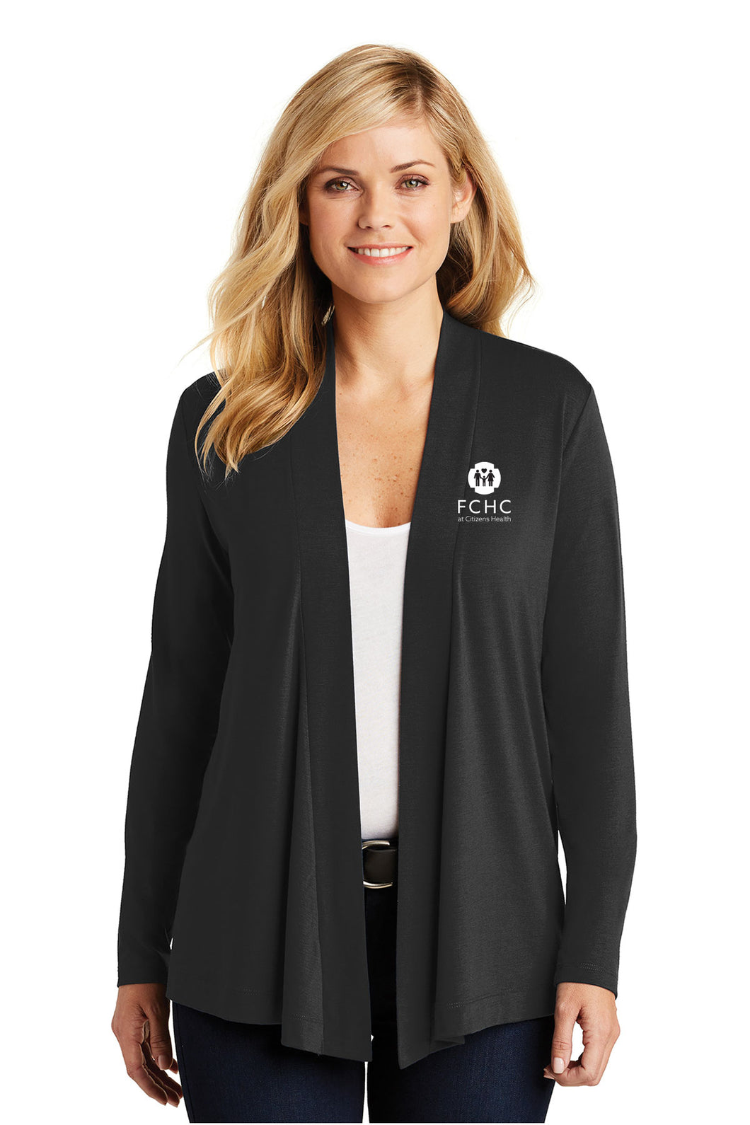 Port Authority® Ladies Concept Open Cardigan - FCHC
