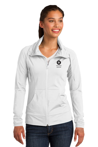 Sport-Tek® Ladies Sport-Wick® Stretch Full-Zip Jacket - PS