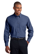 TALL Port Authority® Crosshatch Easy Care Shirt - CH