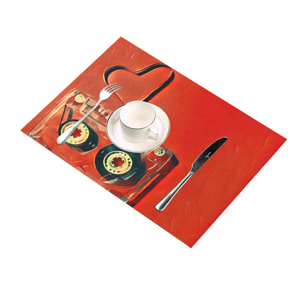 Dub Love fly Placemat 14'' x 19'' (Four Pieces)