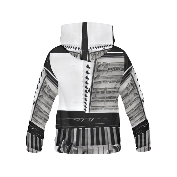 Hands On All Over Print Hoodie for Men (USA Size)
