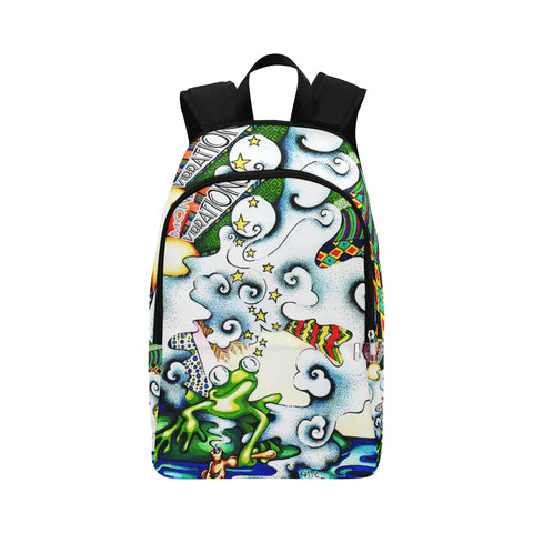 Mondo Vibrations Muse I See Fabric Backpack