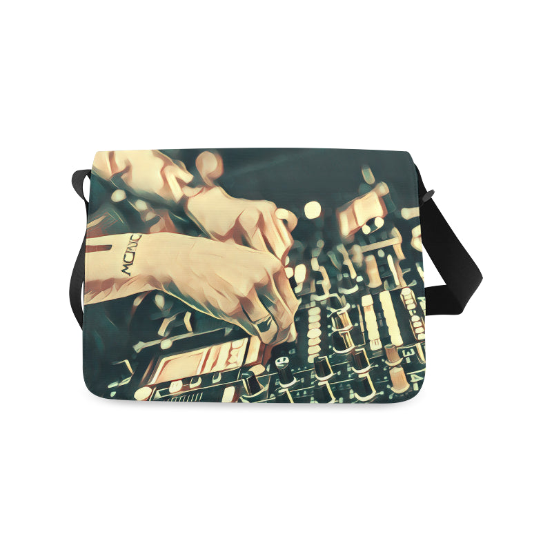 Drop The Beat Messenger Bag