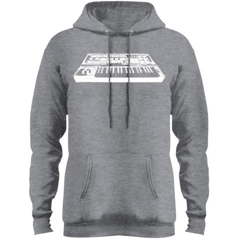 Vintage Synth Fleece Pullover Hoodie