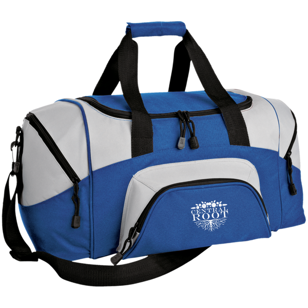 Central Root Small Colorblock Sport Duffel Bag