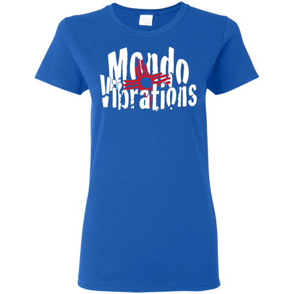 Mondo Vibrations Logo Ladies' 5.3 oz. T-Shirt