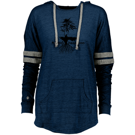 Mondo Vibrations Island Ladies Hooded Low Key Pullover