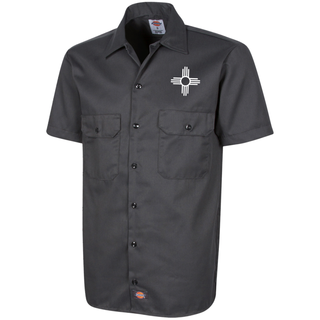 Zia Dickies Men's Short Sleeve Workshirt