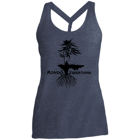 Mondo Vibrations Island Ladies Cosmic Twist Back Tank