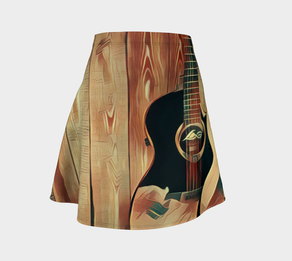 Guitar Grain Skirt